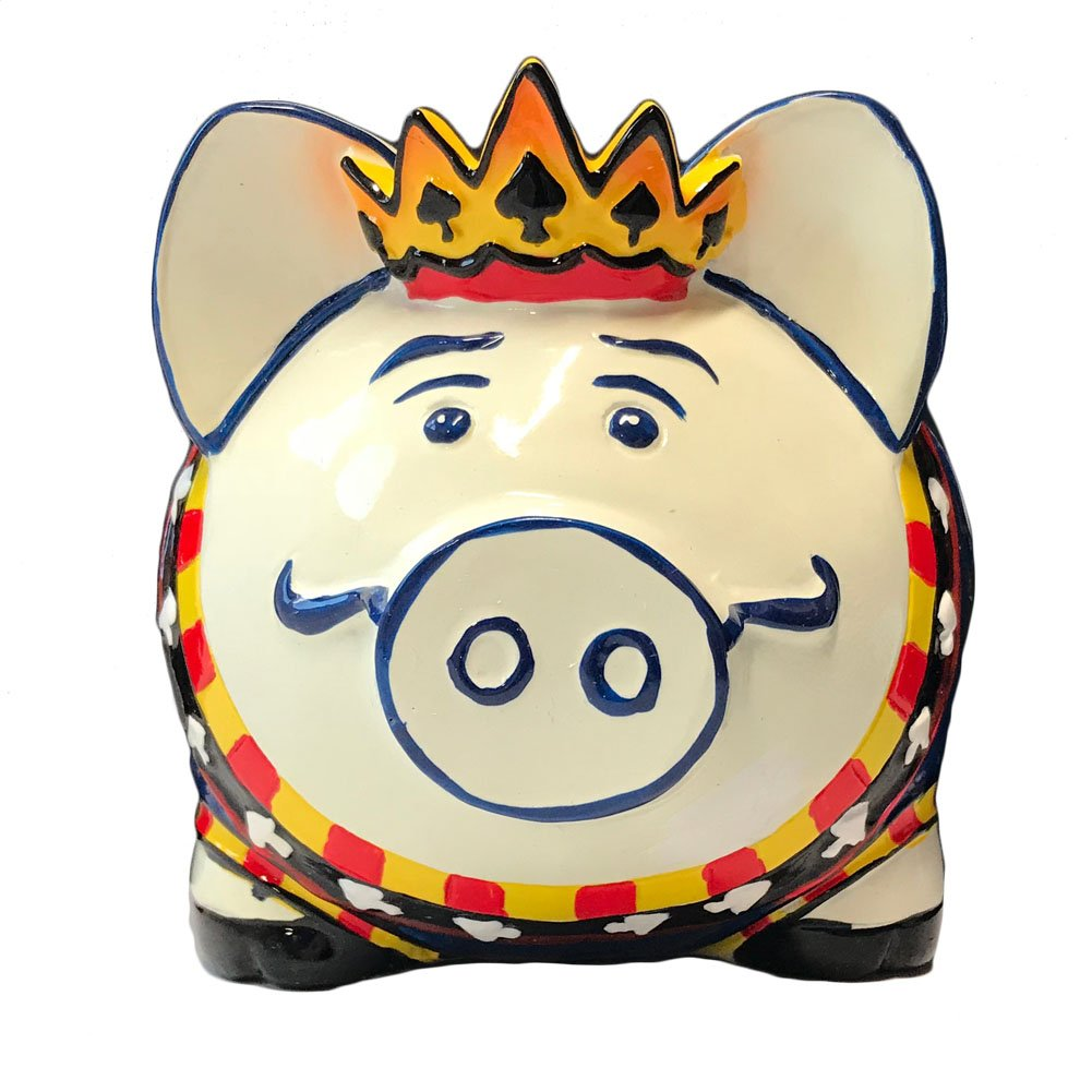 Giftcraft Inhognito Gambler High Stakes Porker Polystone Piggy Money Coin Bank   B009OIA8KG
