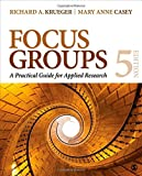 img - for Focus Groups: A Practical Guide for Applied Research book / textbook / text book