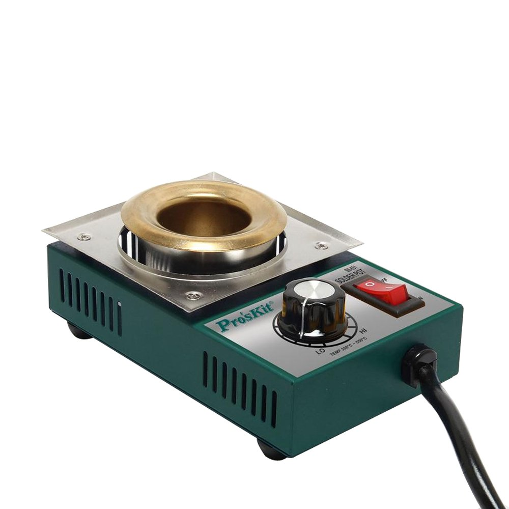 Pro39;skit SS-551H 150W Temperature Controlled Soldering Pot 0.3kg Melting Flux Tin Pot Tin Cans