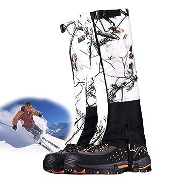 fcd34bc1d76df8 Guêtres jambe de chasse chaussures imperméables chaussure pare-neige  couverture pour hommes et femmes,