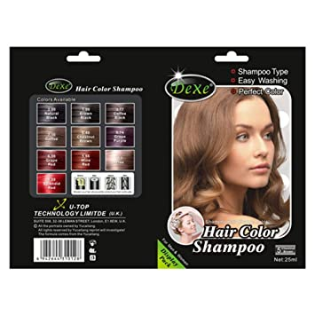 Amazon.com : Hair Shampoo Chinese Herbal Natural Plant Hair Dye Hair ...
