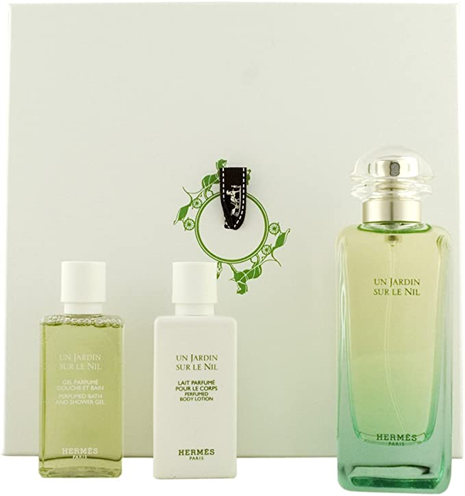 Hermes un jardin sur le Nil Unisex, – Set de regalo Eau de Toilette, 100 ml, Gel de Ducha, 40 ml Plus bodylotion, 40 ml, 1er Pack (1 x 3 unidades): Amazon.es: Belleza