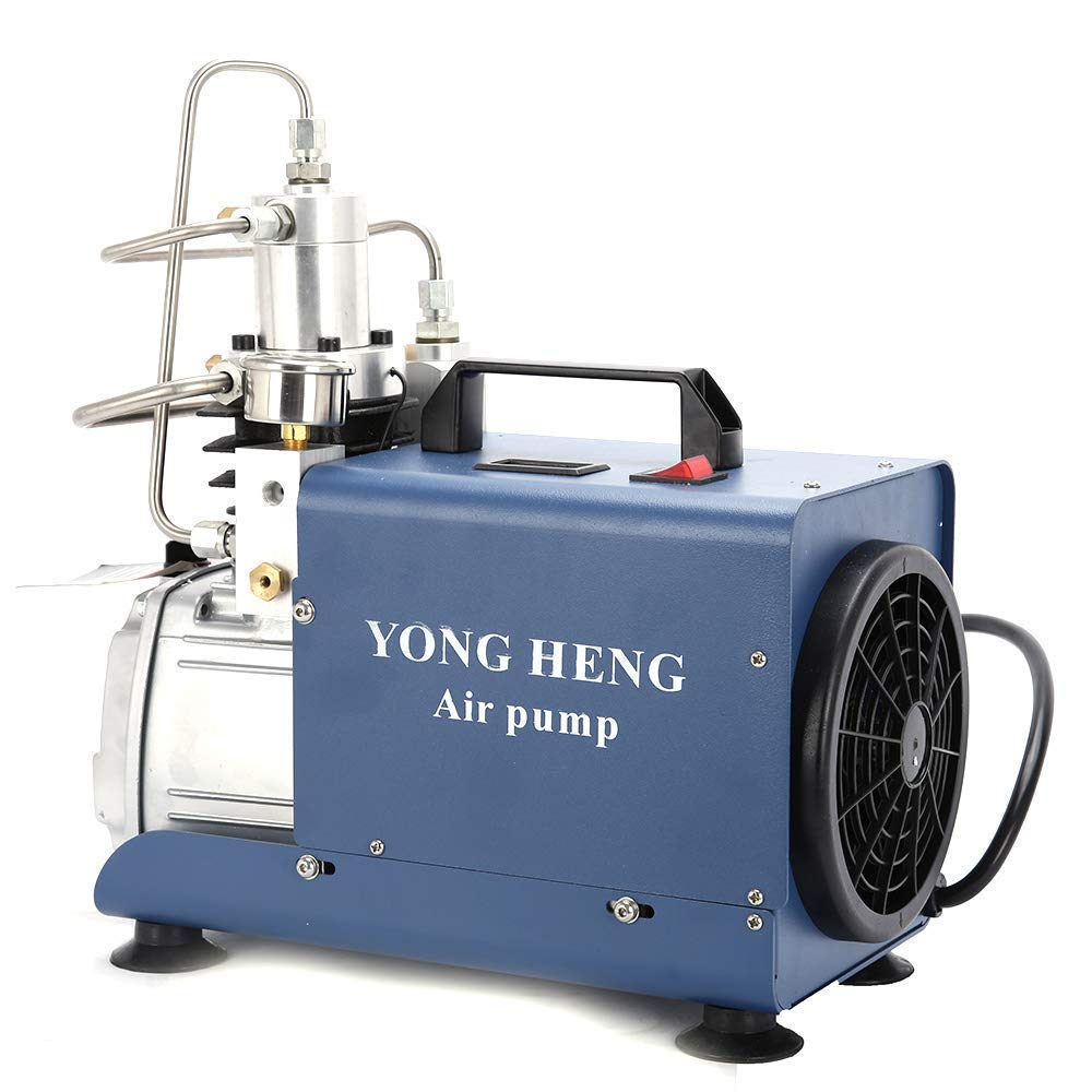 YONG HENG 110V 30MPa Electric Air Compressor Pump High Pressure System Rifle US