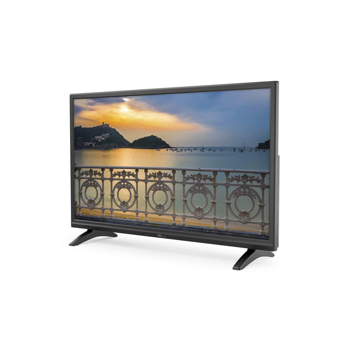 TD Systems K24DLM8HS - Televisor Led 24 Pulgadas HD Smart, resolución 1366 x 768, HDMI, VGA, 2X USB, Smart TV.