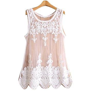 0c30d1fd62191 Cysincos Womens White Summer Boho Sexy Lace Hollow Knit Bikini Swimwear  Cover up Crochet Beach Mini Dress Tops Blouse: Amazon.co.uk: Sports &  Outdoors