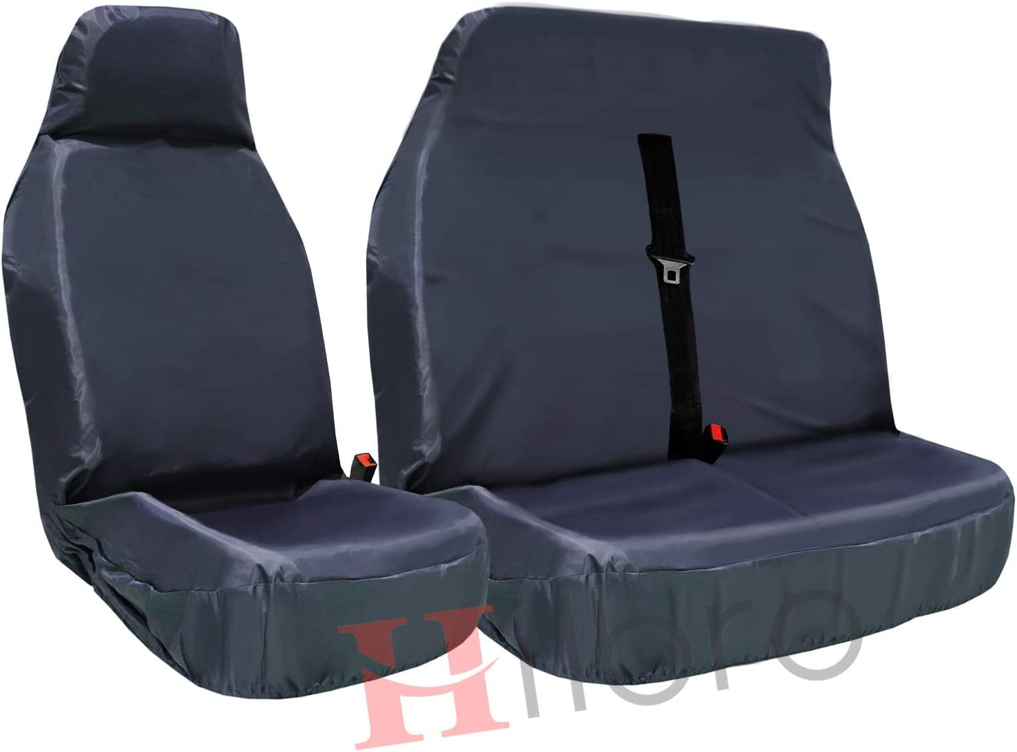 FORD COURIER ALL YEARS Single Heavy Duty Driver Captain Seat Cover Waterproof