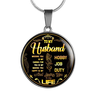 2 light gifts inspirational to my husband necklace pendant romantic sayings for him personalized