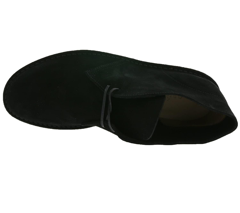Clarks Desert Boot Chaussures en dentelle en cuir véritable pour homme Noir 26128537 2nABpugzn