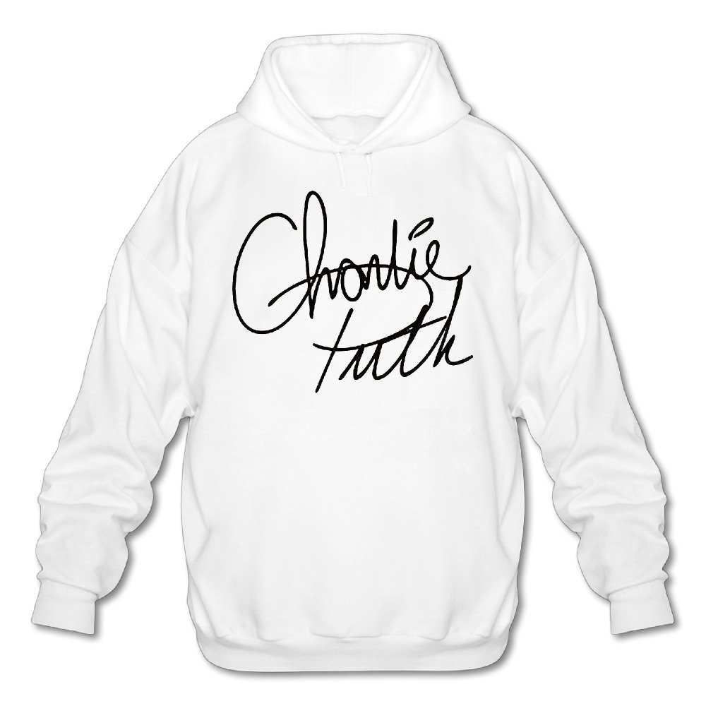 amazon signature of charlie puth hooded sweatshirt white m for 1200s Clothing amazon signature of charlie puth hooded sweatshirt white m for men clothing