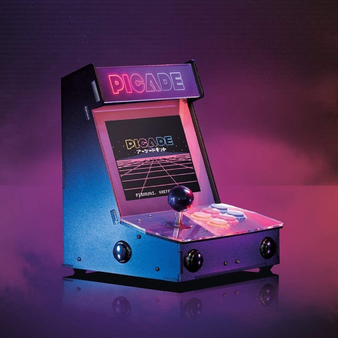 Picade - ¡La Mejor máquina Arcade Retro de Escritorio! (Pantalla de 8 Pulgadas)