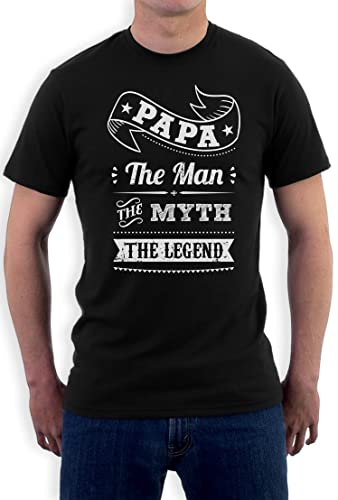 Camiseta Papa The Man The Myth The legend - Regalos para el día del Padre