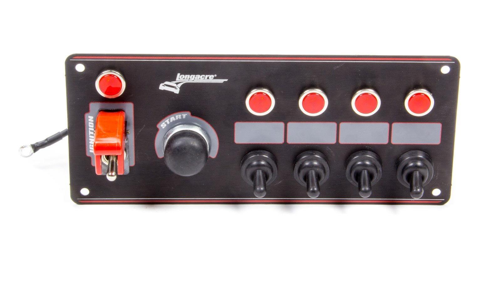 Longacre Racing 52-44869 Black IGN/ST 4 Acc W/FLIP/L