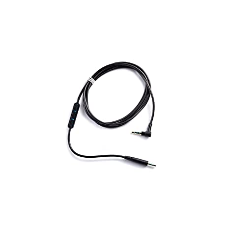c07096437d6 Amazon.com: Bose Quiet Comfort 25 Headphones Inline Mic/Remote Cable for  Apple devices - Black: Home Audio & Theater