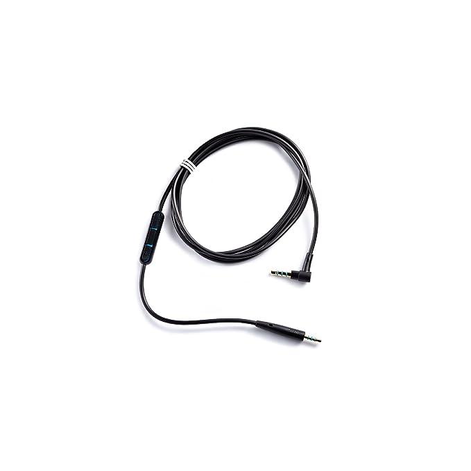 Bose 737667-0010, Cable con micrófono y control remoto para QuietComfort 25, negro: Amazon.es: Electrónica