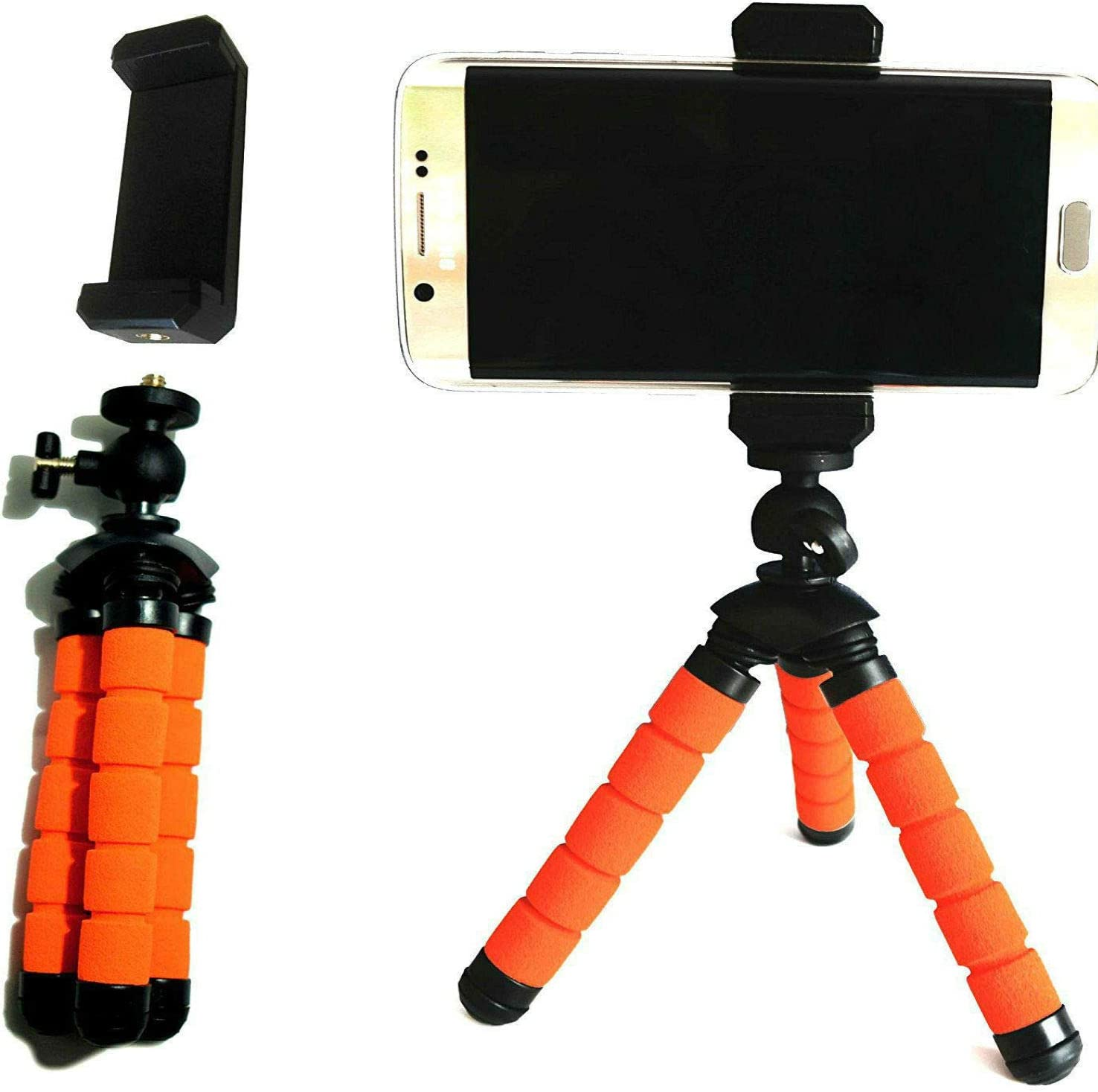 TronicXL Tripod 240S - Trípode Flexible para Smartphone y Tablet para Apple iPhone, Samsung Galaxy y Huawei LG: Amazon.es: Electrónica