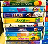 33 Walt Disneys Masterpiece Collection Vhs