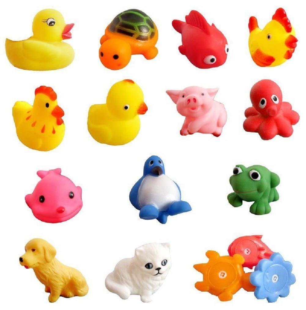 DOXMAL Juguetes de ba/ño para beb/és Animales Figuras de Juguete Juguetes educativos tempranos para 1 2 3 a/ños Ni/ños y ni/ñas Ni/ños