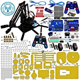Adeept Robotic Arm kit Arduino Compatible Desktop Robot Arm Kit based on Arduino UNO R3 and Nano with NRF24L01 2.4G Wireless Remote Control with PDF Guidebook/Tutorial