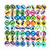 Dandan DIY 40pcs 8mm/0.3'' Mini Assorted Cool Eye