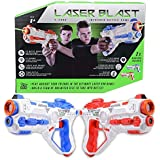 Laser Blast X – 2000 Infrared Battle Tag 2 Player Electronic Gun Blaster Game