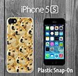 Mr Doge MEME Custom made Case/Cover/skin FOR iPhone 5/5s -White- Plastic Snap On Case ( Ship From CA)