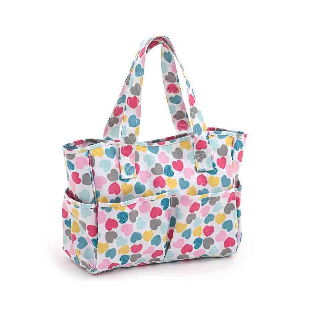 Craft bag–Matt PVC–Love | hobby Gift Mrb/276| 12½ X39x 35cm HobbyGift