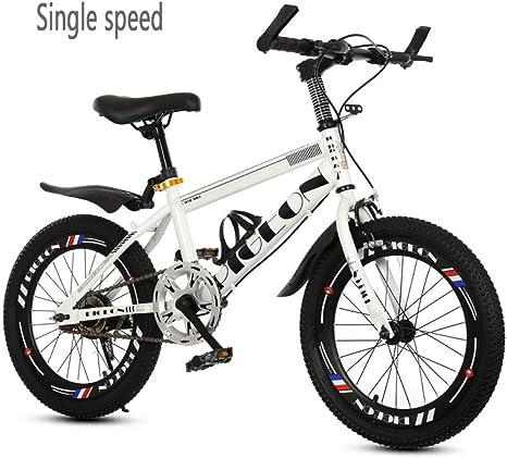 Niños Bicicleta Bicicleta al aire libre Para niños Niños Viaje Bicicleta de montaña Bicicleta de carretera Niños y niñas Bicicleta de velocidad 18/20/22 pulgadas ...