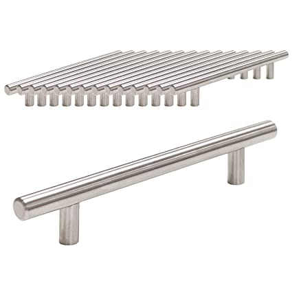 Probrico acero inoxidable pd201hss224 muebles para puerta de armario asas CC 224 mm 8 – 4/5