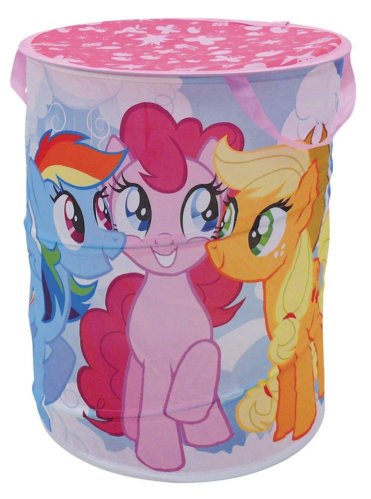 Fun House 712528My Little Pony Pop Up Laundry Basket Polyester Pink 38x 38x 50cm CIJEP