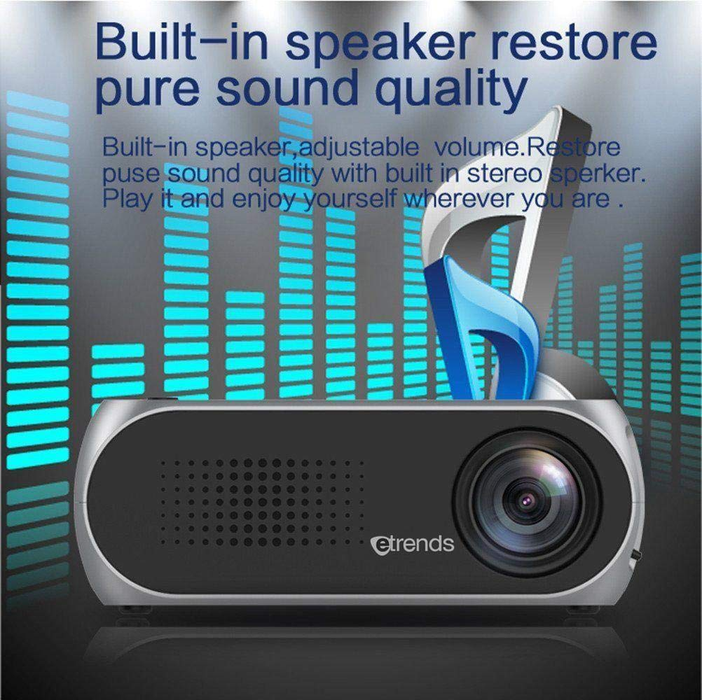 Etrends Portable Mini Home Theater LED