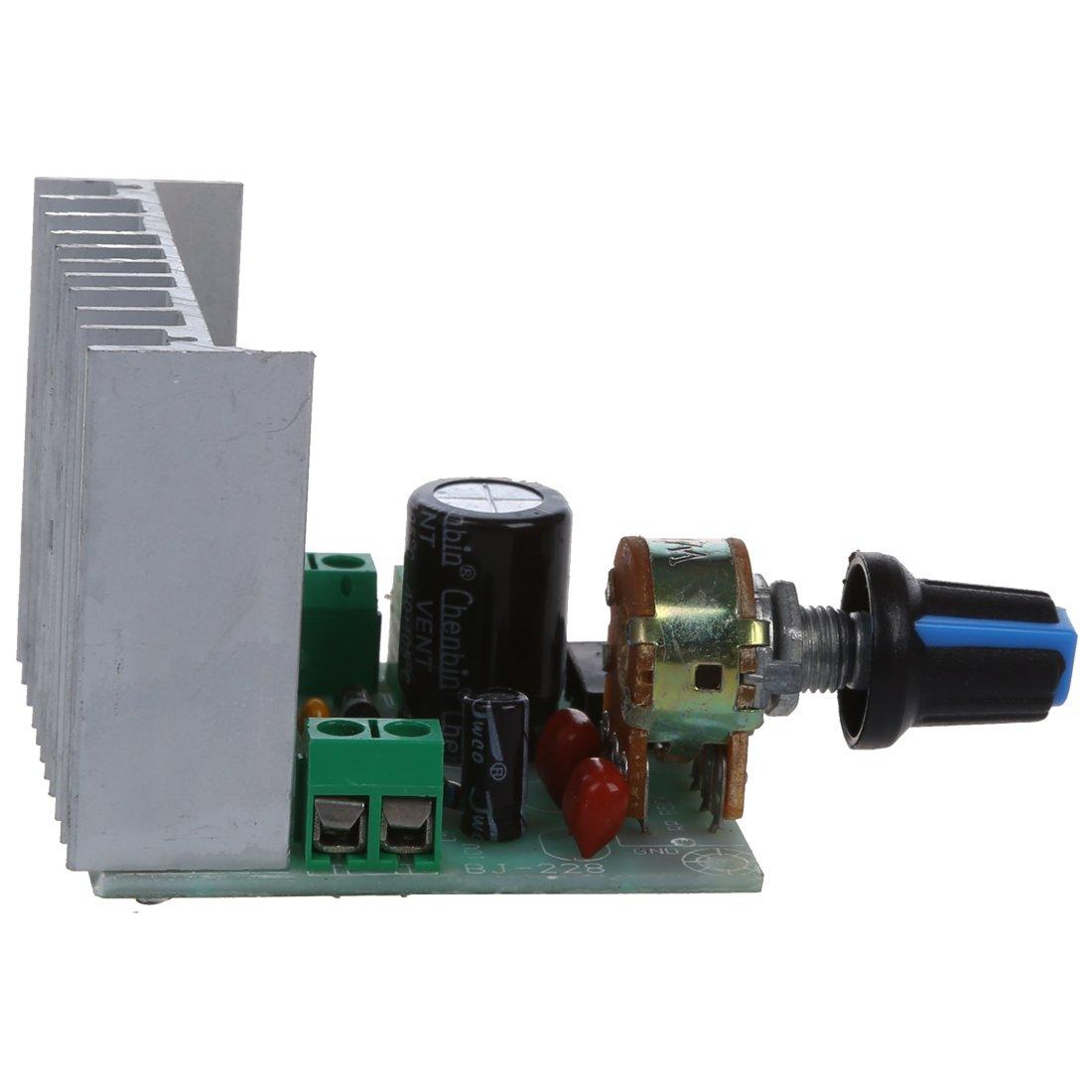 SODIAL(R) AC/DC 9V-15V/12V 15W+15W TDA7297 Version B Dual Channel Amplifier Board Module 014757