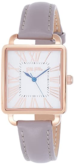 Folli Follie Retro cuadrado Square reloj wf16r012sps-ga Ladies: Amazon.es: Relojes