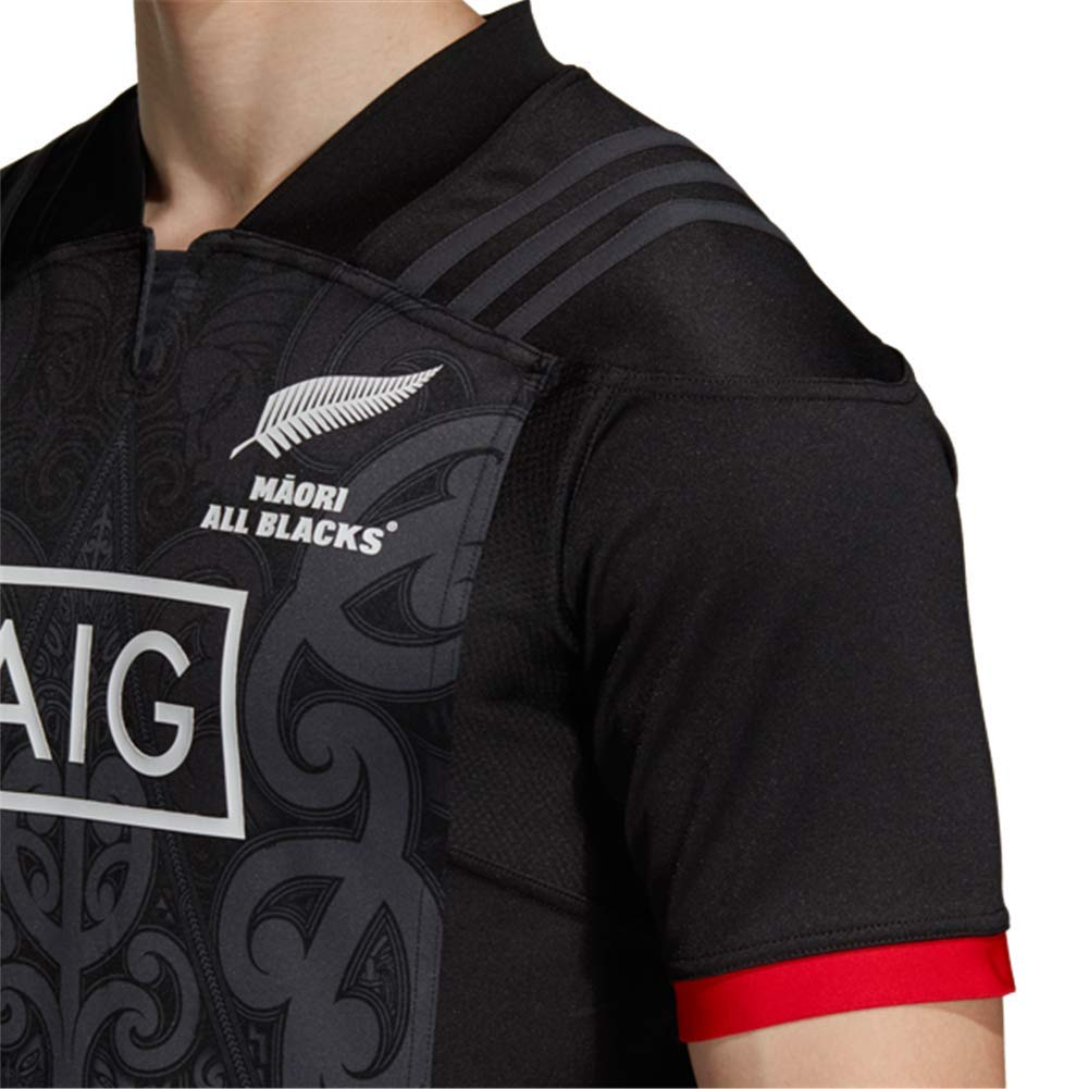 324b751629d83 DLGLOBAL 2018 New Zealand Maori All Blacks Rugby Shirt
