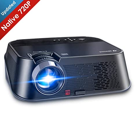 Amazon.com: Zeacool - Proyector de vídeo HD, superbrillante ...