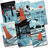 Arthur Ransome Collection Vintage Children's Classics 6 Books Bundle (Coot Club, Peter Duck, Pigeon Post, Swallowdale, Swallows and Amazons, Winter Holiday)