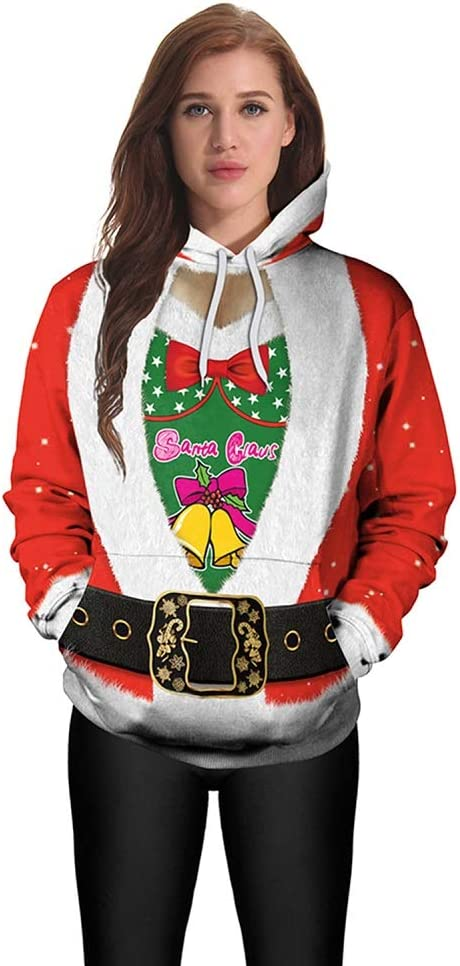 PZY Disfraces para Navidad, Suéteres con Capucha para Navidad ...