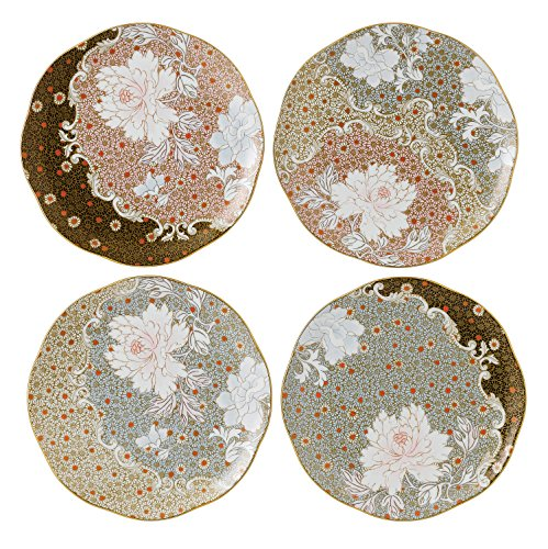 Wedgwood Daisy Tea Story Plates, 8.25-Inch, Set of 4 ()