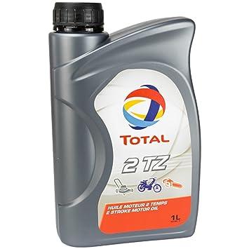 Aceite total 2 TZ 1L de 2 del Cortacésped Cadenas Sierra Moto Art-Land