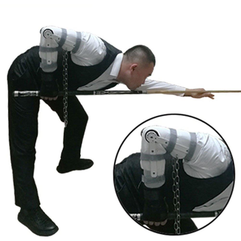 Billiard Training Glove Accessories Set Arm Wrist Adjust Tool (Right Hand) Cuppa billiards