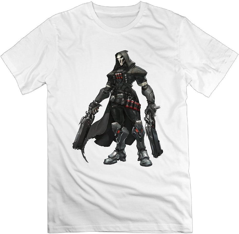Overwatch Men's Reaper Fashion - T Shirts White