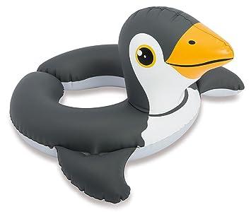 Intex Agua Anillo Flotador Ayuda Juguete Animal Cabeza Dibujo Cebra