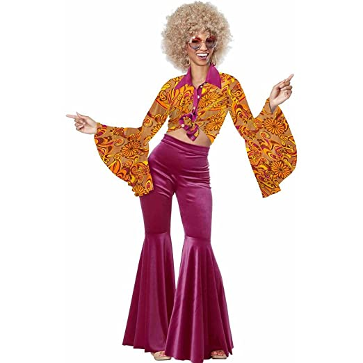 70s Costumes: Disco Costumes, Hippie Outfits Funky Disco Diva $59.99 AT vintagedancer.com