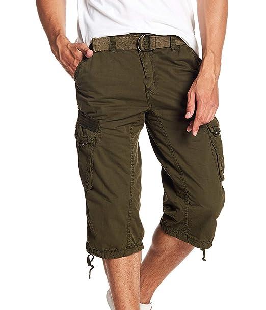 3bc21e5ca5 XRAY JEANS XRAY MEN'S TURIN CARGO SHORTS-Olive-40: Amazon.ca: Clothing &  Accessories