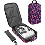 Esimen Fashion Travel Case for Oculus Quest 2/Oculus Quest VR Gaming Headset and Controllers Accessories Carrying Bag Storage
