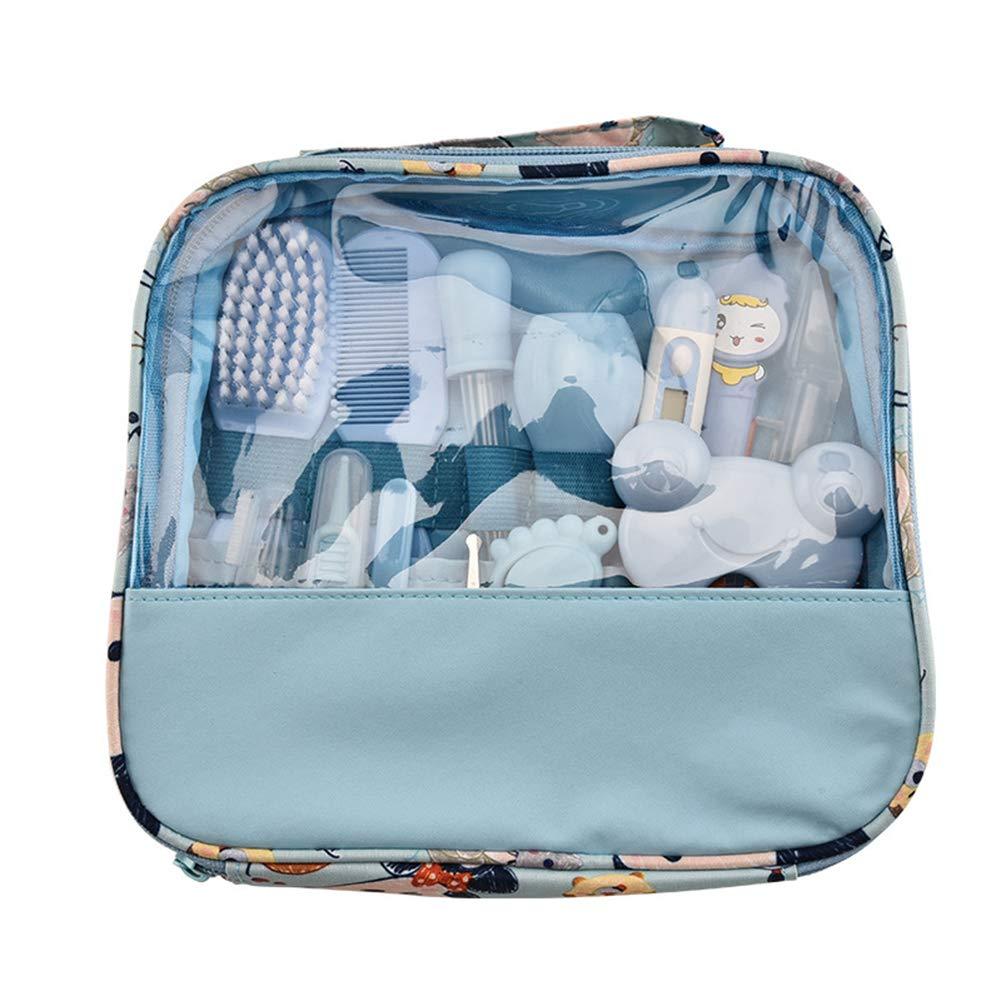 Azul De 13pcs Beb/é Salud Set De U/ñas Cuidado Infantil Premium Set Accesorios Para El Cuidado Del Beb/é Para Los Beb/és Ni/ño Ni/ños Reci/én Nacidos
