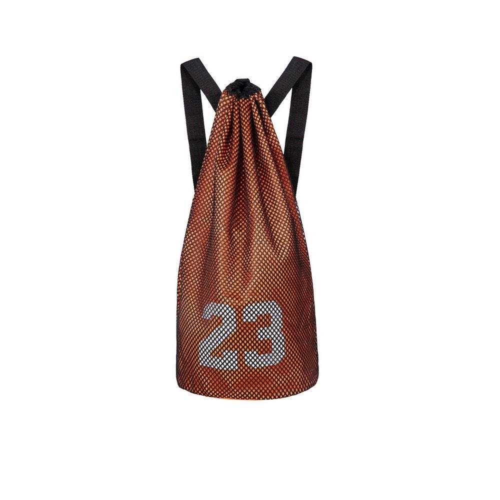 Escomdp 2 Capas 230 g Mochila de Deportes de Baloncesto con Cordón, Bolsa de Voleibol de Fútbol, 29 L (Azul) Yishangtuo