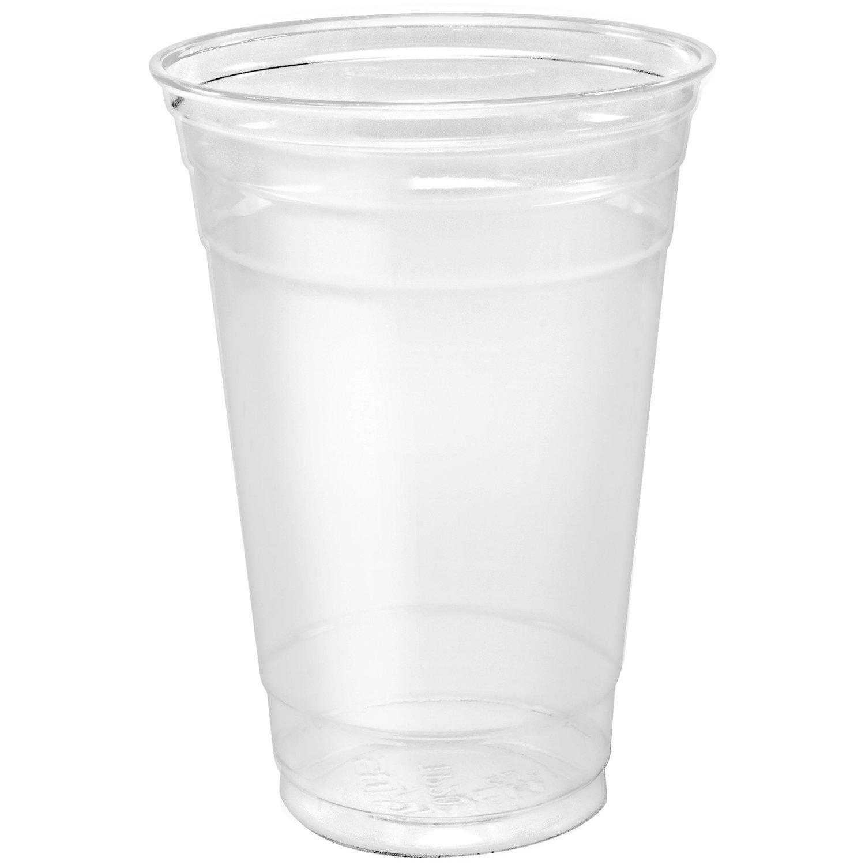 Dart TP20 20 oz Ultra Clear PET Plastic Cup (Case of 600)