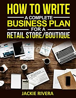 how to write a business plan for a boutique