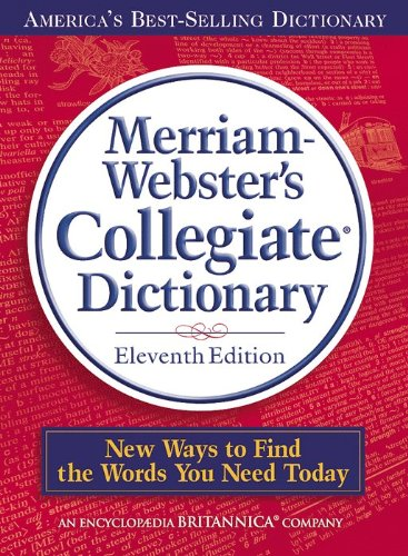 Merriam-Webster's Collegiate Dictionary, 11th Edition (Best Iphone Dictionary App 2019)