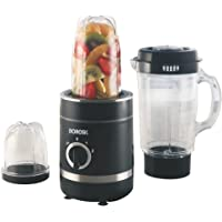 Borosil Nutri Fresh 400-Watt Grinder with 3 Jars